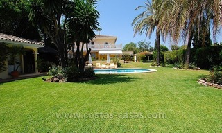 Golf villa to buy near San Pedro in Marbella 1