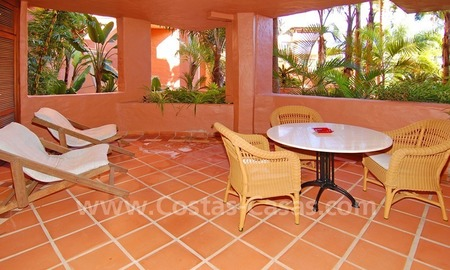 Luxury studio for sale, first line beach resort on the New Golden Mile, Marbella - Estepona