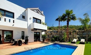 Second line golf contemporary luxury villa for sale in Marbella – Benahavis 1