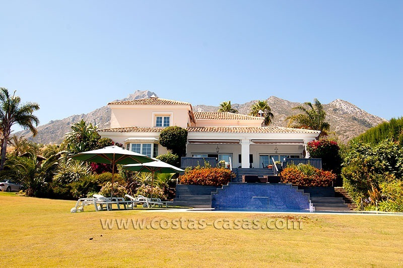 Luxury modern andalusian villa for sale in Sierra Blanca, Marbella