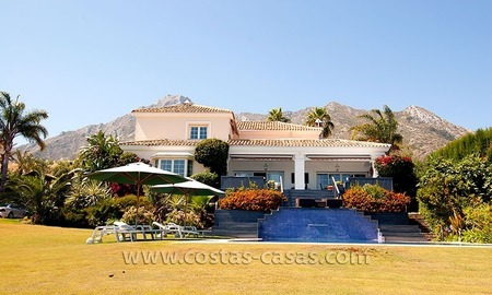 Luxury modern andalusian villa for sale in Sierra Blanca, Marbella 0