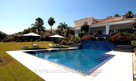 Luxury modern andalusian villa for sale in Sierra Blanca, Marbella 1