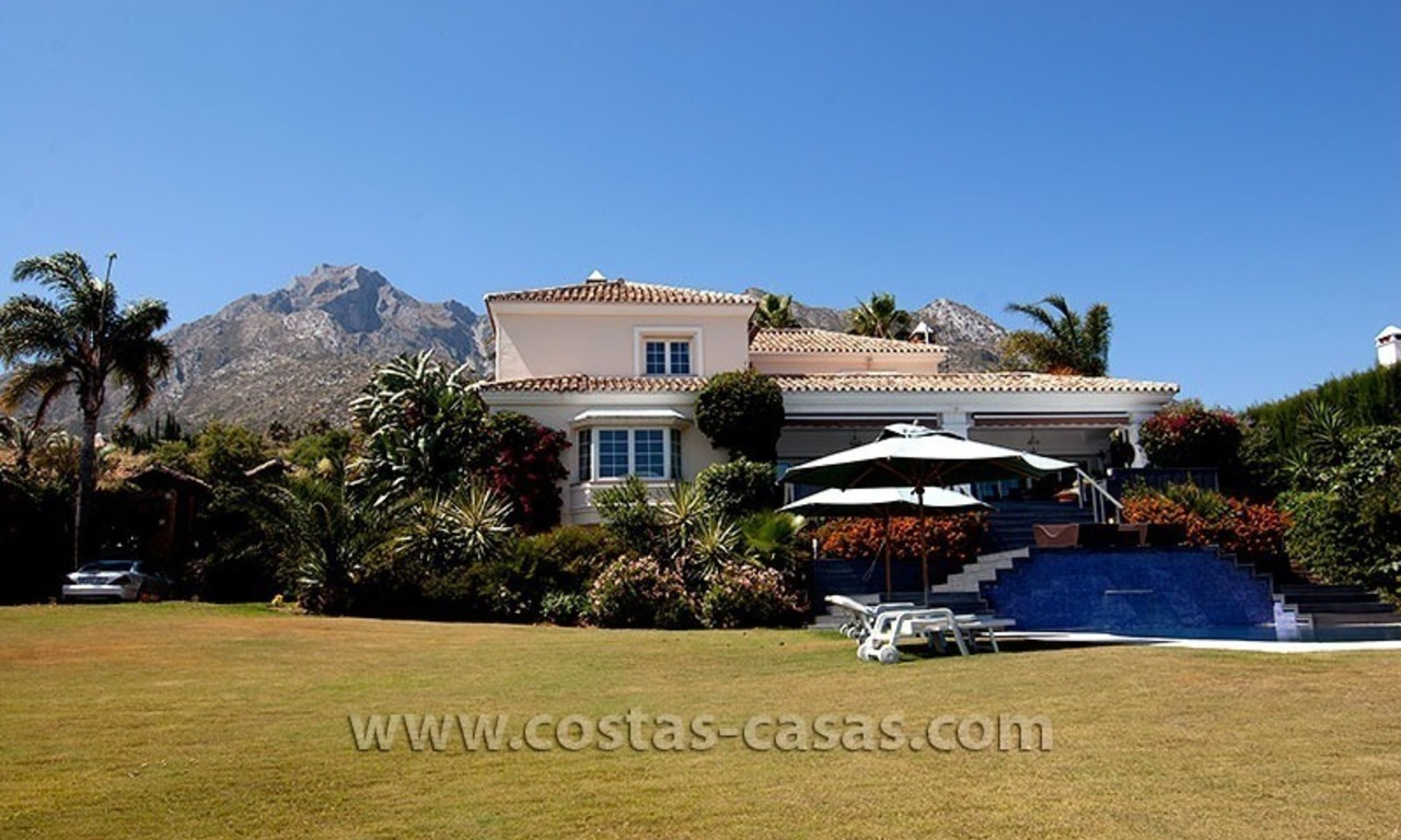 Luxury modern andalusian villa for sale in Sierra Blanca, Marbella 2