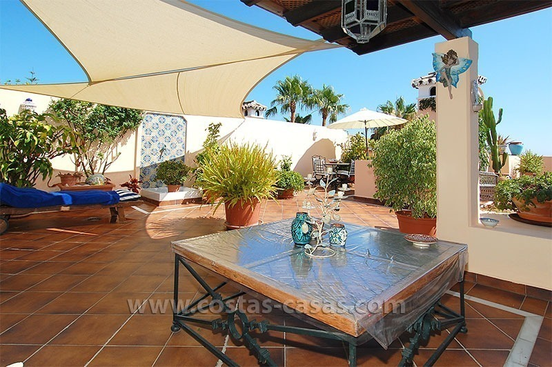 Bargain beachside penthouse apartment for sale, New Golden Mile, Marbella - Estepona