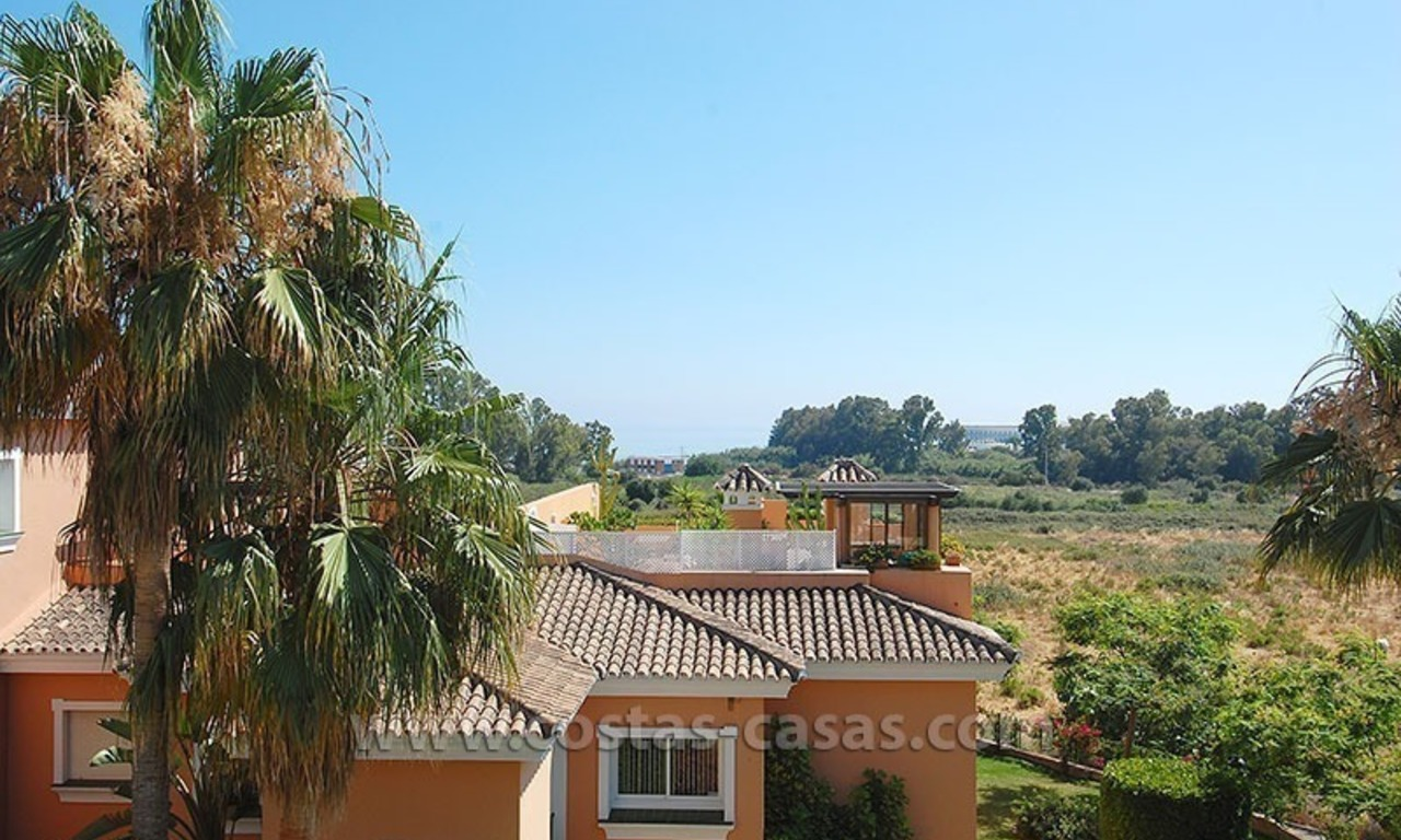 Bargain beachside penthouse apartment for sale, New Golden Mile, Marbella - Estepona 1