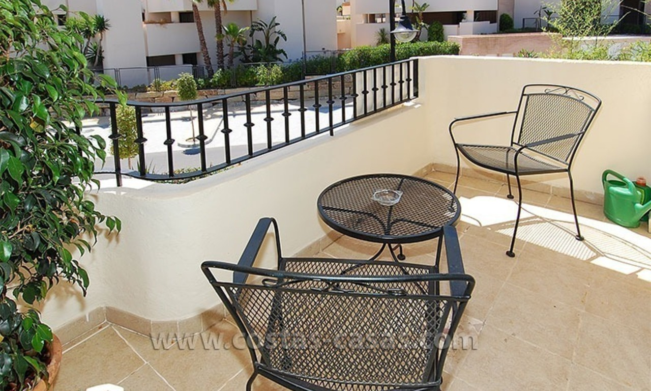 Townhouse for sale in beachfront complex in Estepona 7