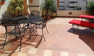 Townhouse for sale in beachfront complex in Estepona 1