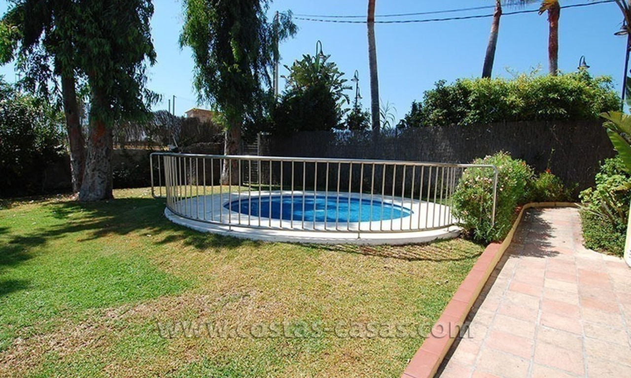 Townhouse for sale in beachfront complex in Estepona 27