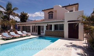 Beachside villa for sale on the Golden Mile near Puerto Banus 0
