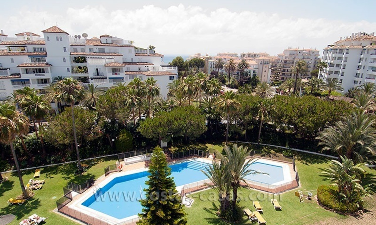 Beachside apartment for sale in Puerto Banus – Marbella 10