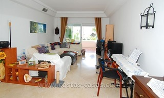 Beachside apartment for sale in beachfront complex, New Golden Mile, Marbella - Estepona 2