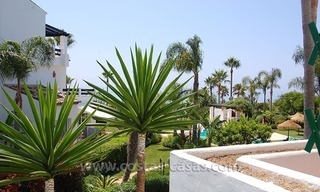 Beachside apartment for sale in beachfront complex, New Golden Mile, Marbella - Estepona 0