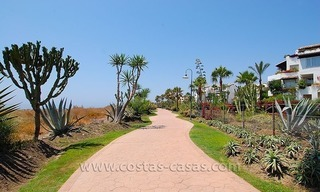 Beachside apartment for sale in beachfront complex, New Golden Mile, Marbella - Estepona 16