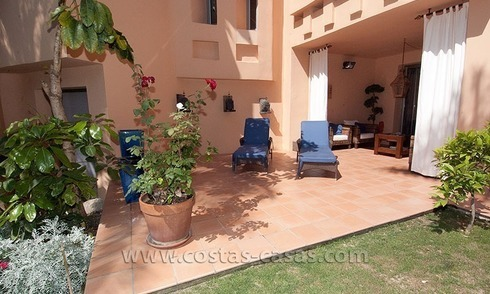 Exclusive luxury apartment to buy on the Golden Mile in Marbella