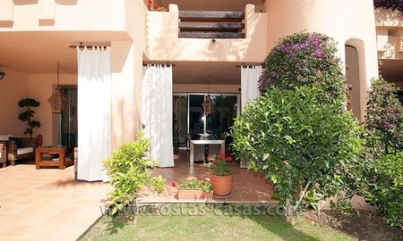 Exclusive luxury apartment to buy on the Golden Mile in Marbella 1