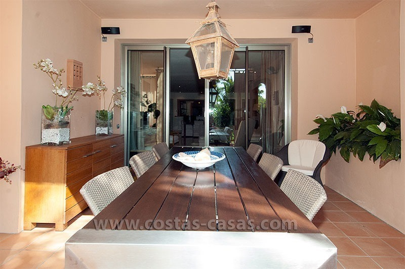 Exclusive luxury apartment to buy on the Golden Mile in Marbella 2
