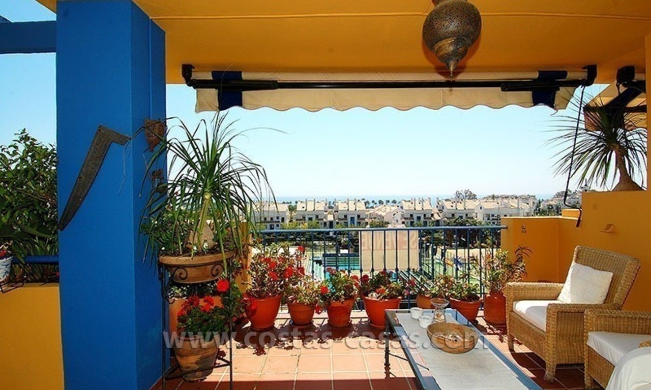 Beachside apartment for sale in Marbella 2