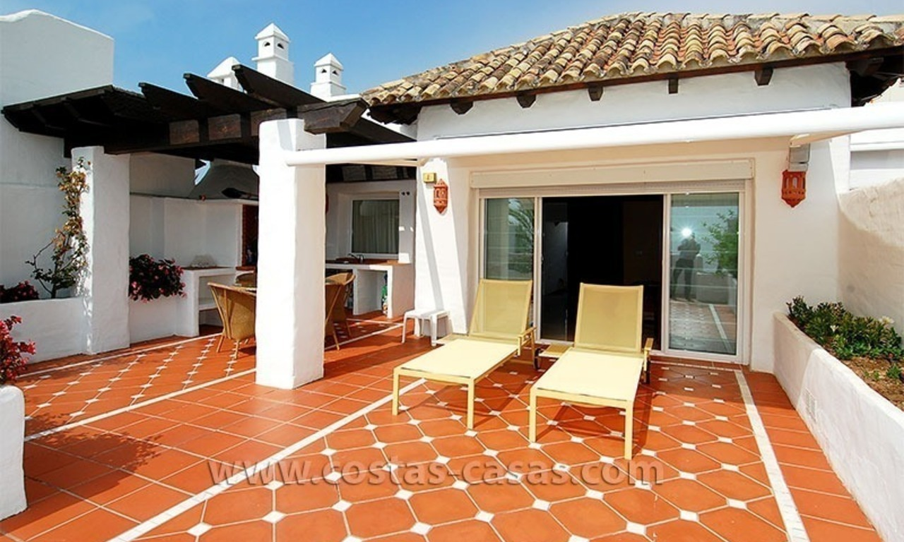 Beach penthouse for sale in Puerto Banús – Marbella 19
