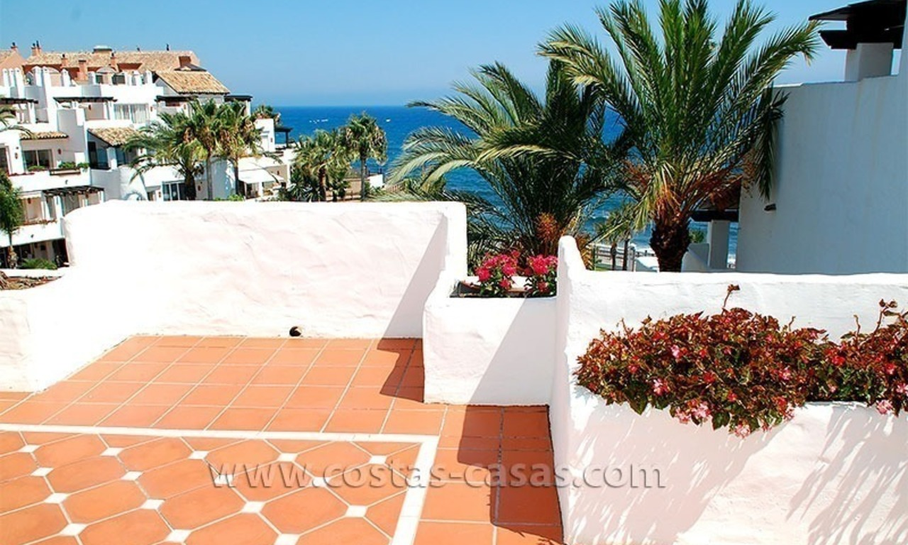Beach penthouse for sale in Puerto Banús – Marbella 20