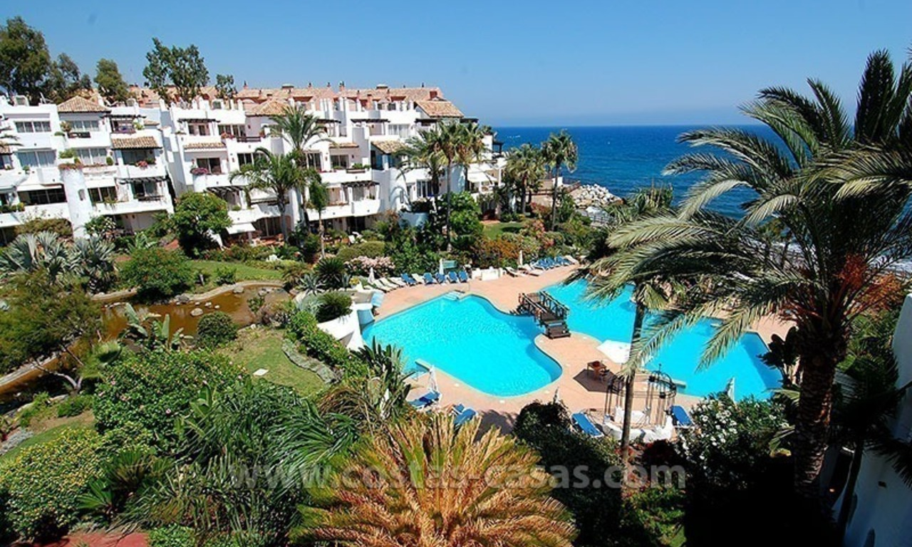 Beach penthouse for sale in Puerto Banús – Marbella 21