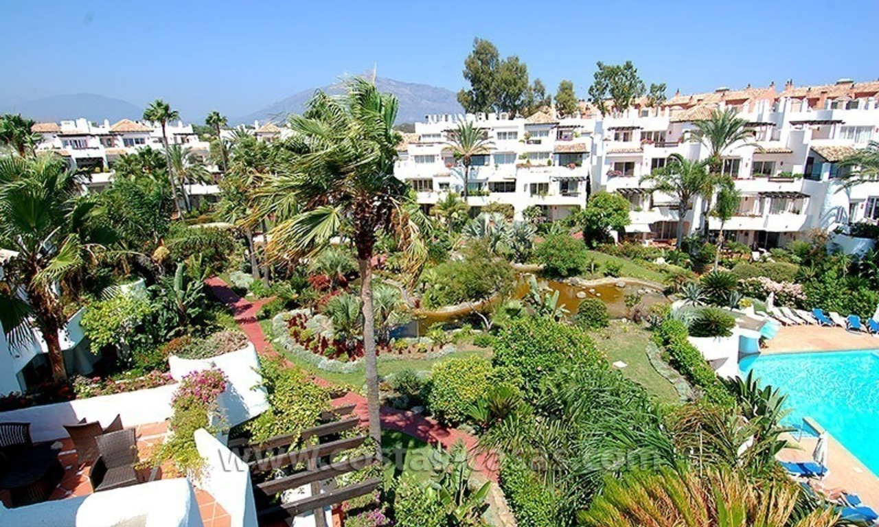 Beach penthouse for sale in Puerto Banús – Marbella 22