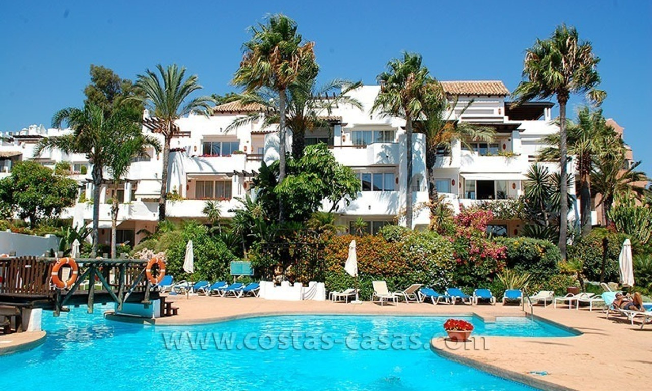 Beach penthouse for sale in Puerto Banús – Marbella 24