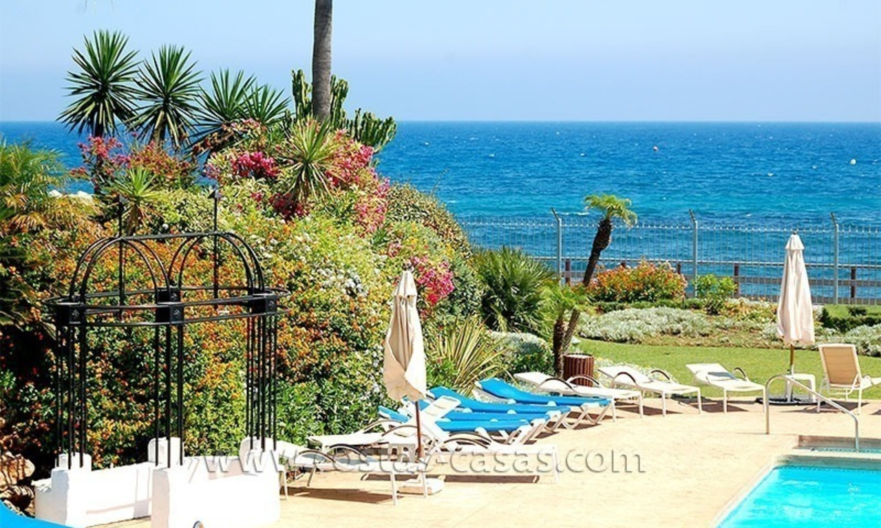 Beach penthouse for sale in Puerto Banús – Marbella 26