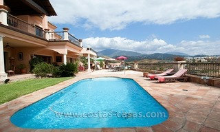 Andalusian styled golf villa for sale in Marbella – Benahavis 1
