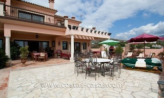 Andalusian styled golf villa for sale in Marbella – Benahavis 2