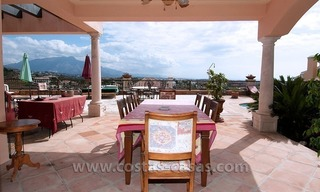 Andalusian styled golf villa for sale in Marbella – Benahavis 4
