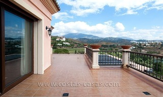 Andalusian styled golf villa for sale in Marbella – Benahavis 7