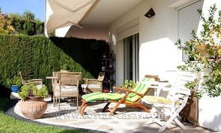 For Sale: Spacious ground floor apartment with private gardens in Nueva Andalucía, Marbella 0