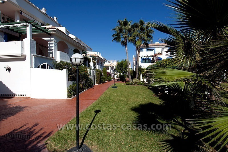 Mere Steps from the Beach. For sale: Apartment just west of Puerto Banús, Marbella 1