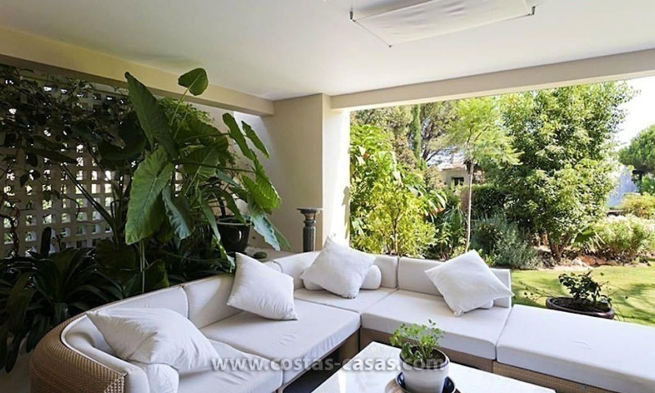 Exclusive Luxury Apartment for Sale on the Golden Mile in Marbella 1