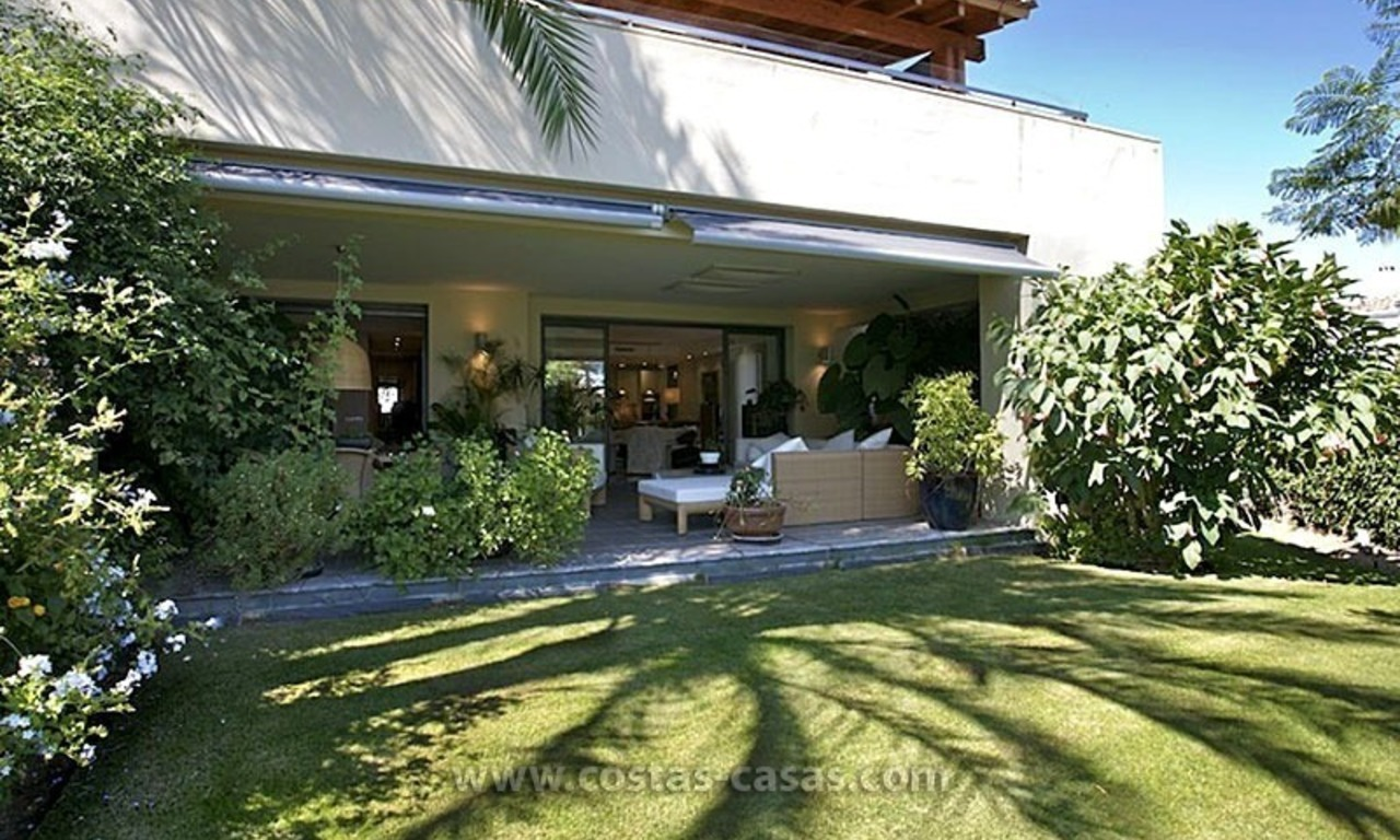 Exclusive Luxury Apartment for Sale on the Golden Mile in Marbella 0