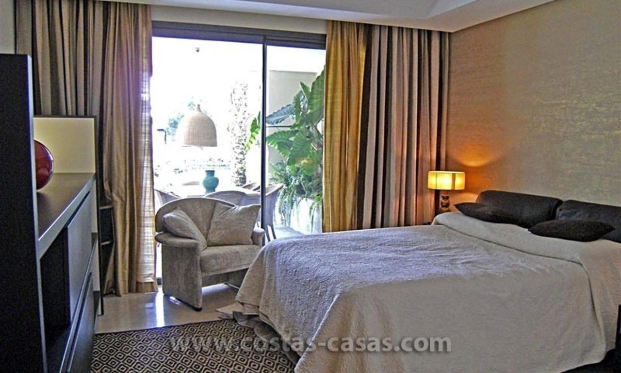 Exclusive Luxury Apartment for Sale on the Golden Mile in Marbella 14