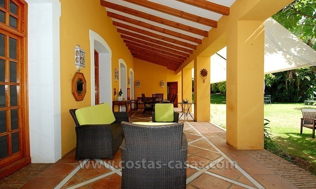 Andalusian Style Golf Villa for Sale in Estepona – Marbella 7