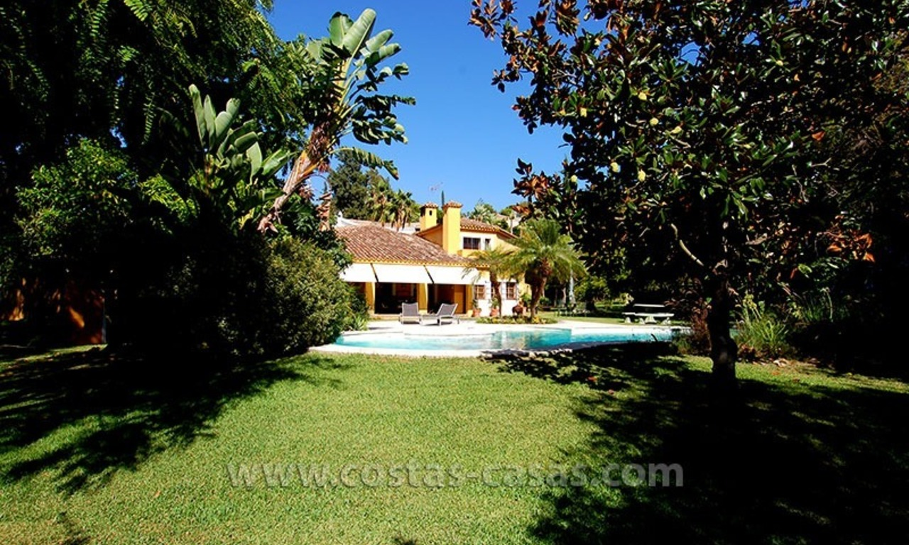 Andalusian Style Golf Villa for Sale in Estepona – Marbella 2