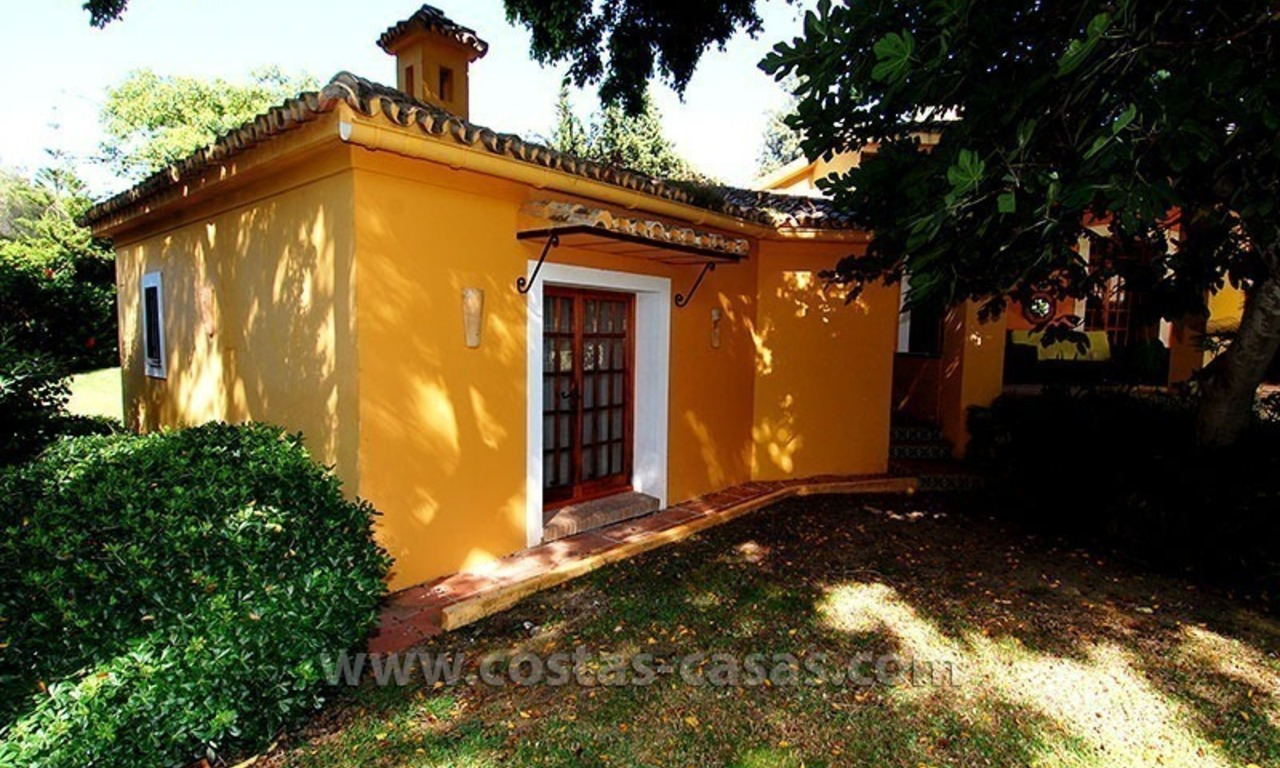 Andalusian Style Golf Villa for Sale in Estepona – Marbella 4