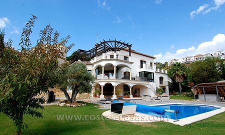 Exclusive Andalusian Style Villa for Sale in the Area of Marbella - Benahavis 2
