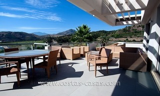 Contemporary, Luxury Golf Apartment for sale in Marbella - Benahavis 1