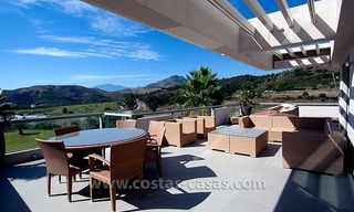 Contemporary, Luxury Golf Apartment for sale in Marbella - Benahavis 0