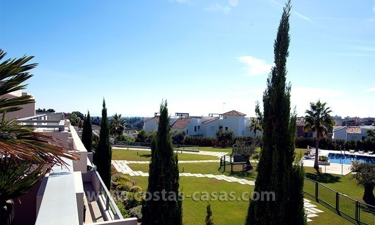 Contemporary, Luxury Golf Apartment for sale in Marbella - Benahavis 3