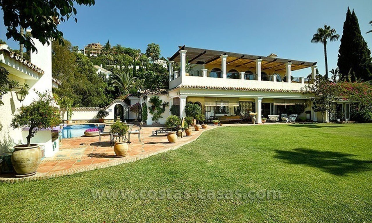 Exclusive Andalusian Villa for Sale in Marbella - Benahavis 2