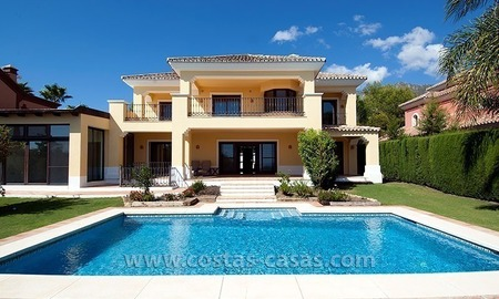 For Sale on Marbella's Golden Mile: Luxury Villa 0