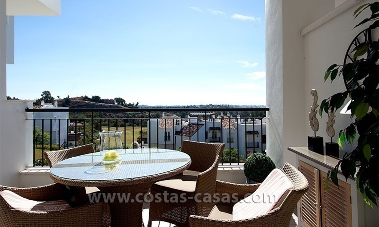 For Sale in the Marbella – Benahavís: First-Line Golf Apartment 3