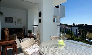 For Sale in the Marbella – Benahavís: First-Line Golf Apartment 4