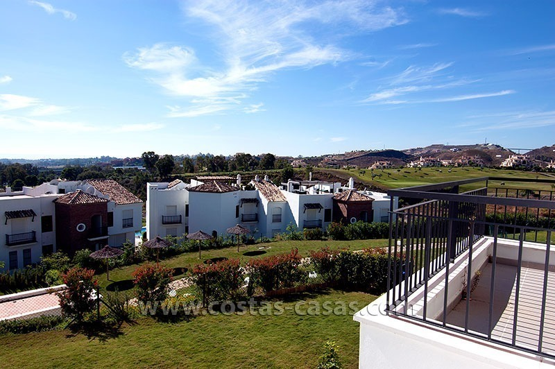 For Sale in the Marbella – Benahavís: First-Line Golf Apartment 1
