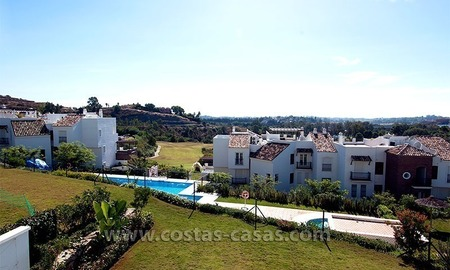 For Sale in the Marbella – Benahavís: First-Line Golf Apartment