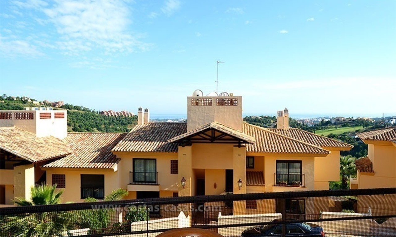 For Sale in the Marbella – Benahavís Area: Golf Apartment 26